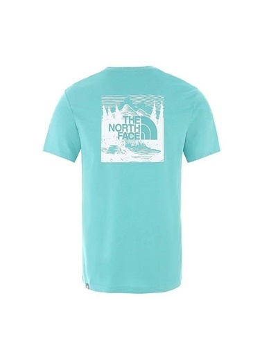 The North Face Redbox Celebration Erkek T-Shirt Yeşil Renkli